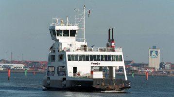 Med færgen til Fanø