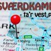 Sværdkamp 2018 foregår i det vestlige Jylland
